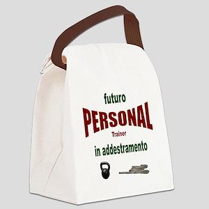 futuro personal Canvas Lunch Bag
