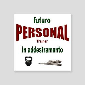 """futuro personal Square Sticker 3"""" x 3"""""""