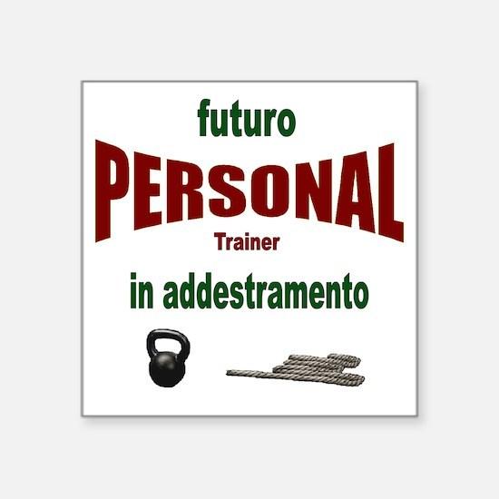 """futuro personal.gif Square Sticker 3"""" x 3"""""""