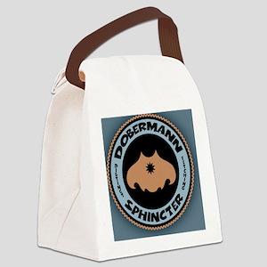 doberbutt-BUT Canvas Lunch Bag