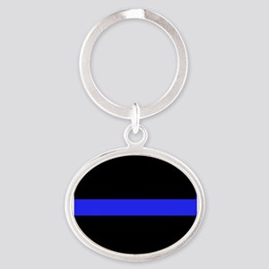 Police Thin Blue Line Keychains