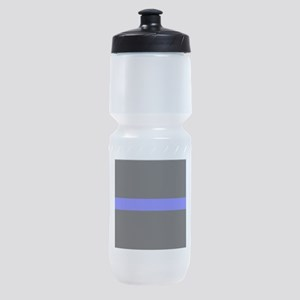 Police Thin Blue Line Sports Bottle