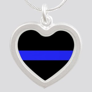 Police Thin Blue Line Necklaces