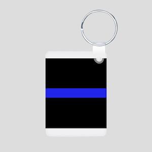 Police Thin Blue Line Keychains
