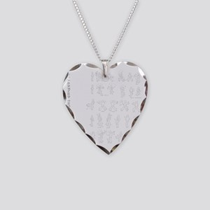 kungfu003 Necklace Heart Charm
