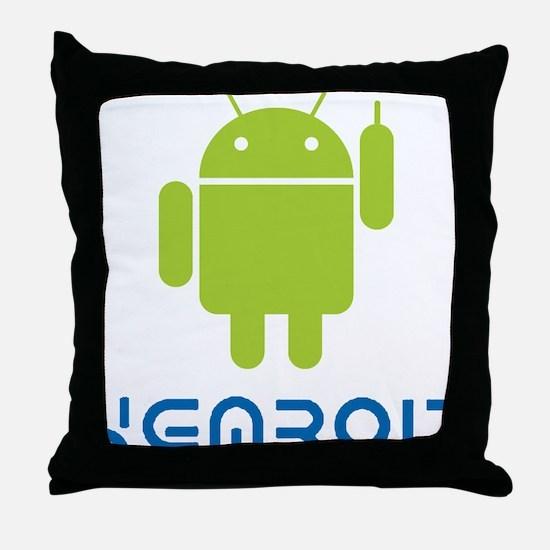 Hemroid Shirt Logo Throw Pillow
