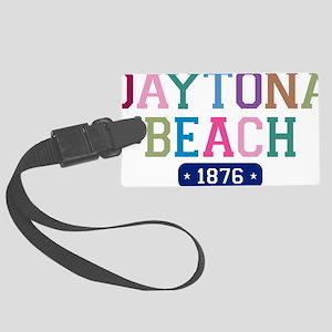 Daytona Beach 1876 W Large Luggage Tag