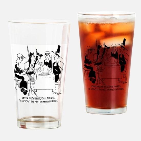 8436_court_reporter_cartoon Drinking Glass