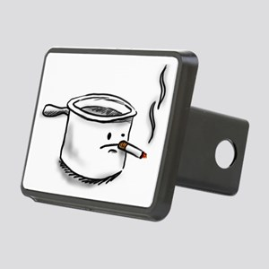 smoking pot Rectangular Hitch Cover