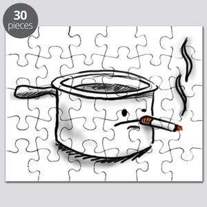 smoking pot Puzzle
