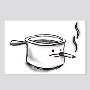 smoking pot Postcards (Package of 8)