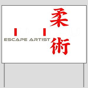 EscapeWht Yard Sign