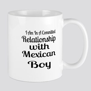 I Am In Relationship With Mexica 11 oz Ceramic Mug