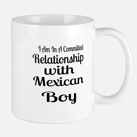 I Am In Relationship With Mexica Mug