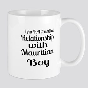 I Am In Relationship With Maurit 11 oz Ceramic Mug