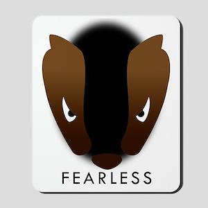 Honey Badger Fearless Mousepad