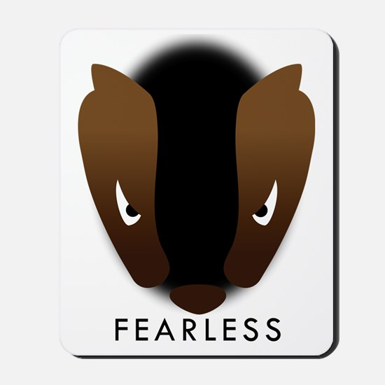 Honey Badger Fearless Mousepad