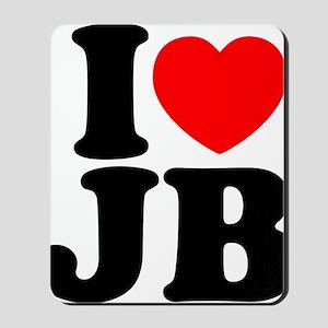 I Love Jam Bands Mousepad