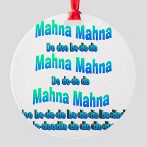 mahnasong Round Ornament