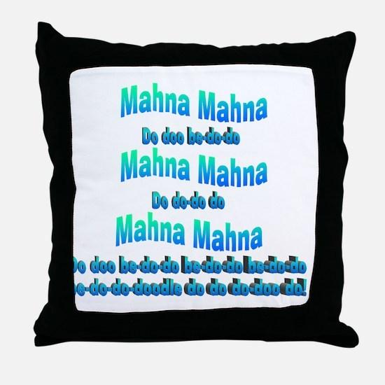 mahnasong Throw Pillow