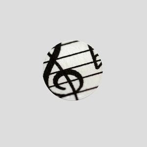 trebel clef Mini Button