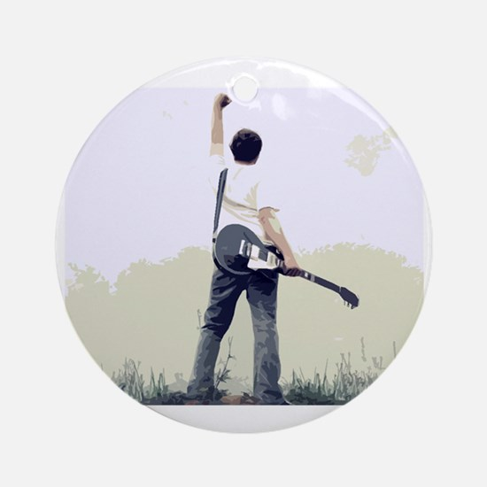 guitar wall Round Ornament