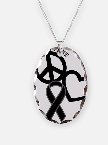 Black, Hope Necklace