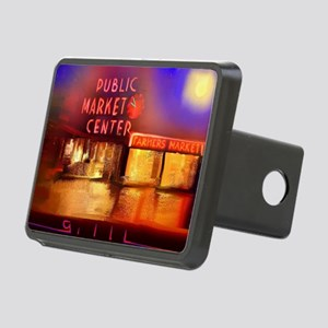Pike Place Market.pod Rectangular Hitch Cover