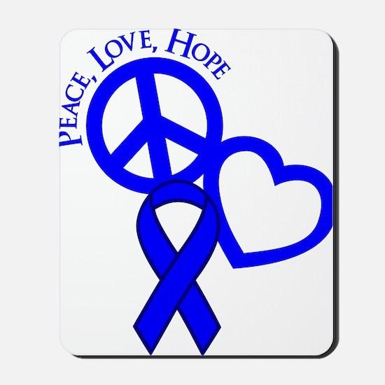 Blue, Hope Mousepad