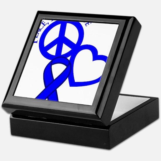 Blue, Hope Keepsake Box