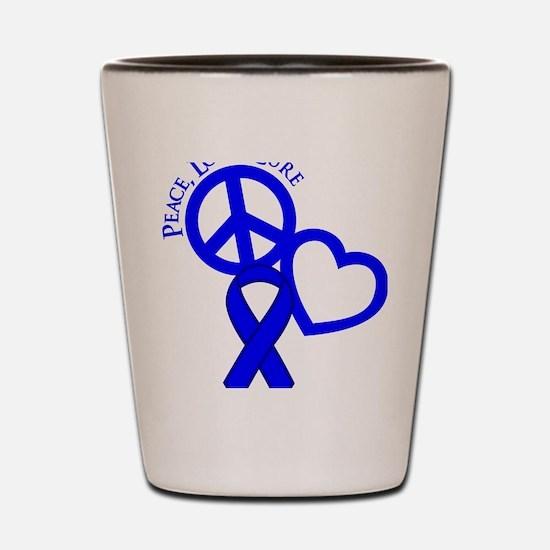 Blue, Cure Shot Glass