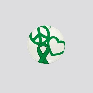Green, Cure Mini Button