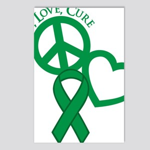 Green, Cure Postcards (Package of 8)
