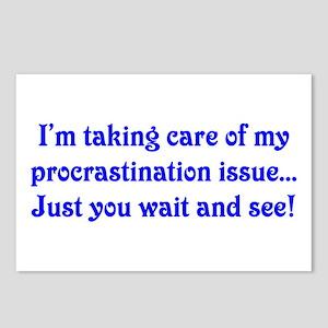 Procrastination Postcards (Package of 8)