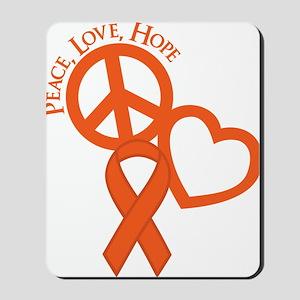 Orange, Hope Mousepad