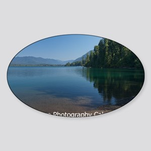 01_lakequinault Sticker (Oval)