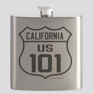 US Route 101 - California Flask