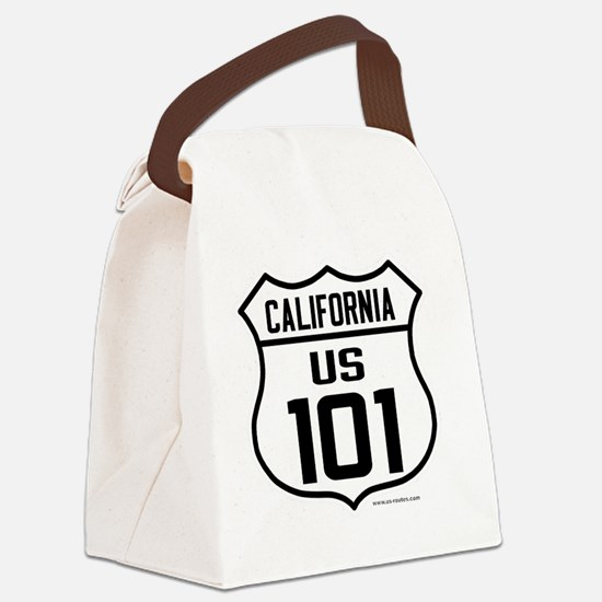 US Route 101 - California Canvas Lunch Bag