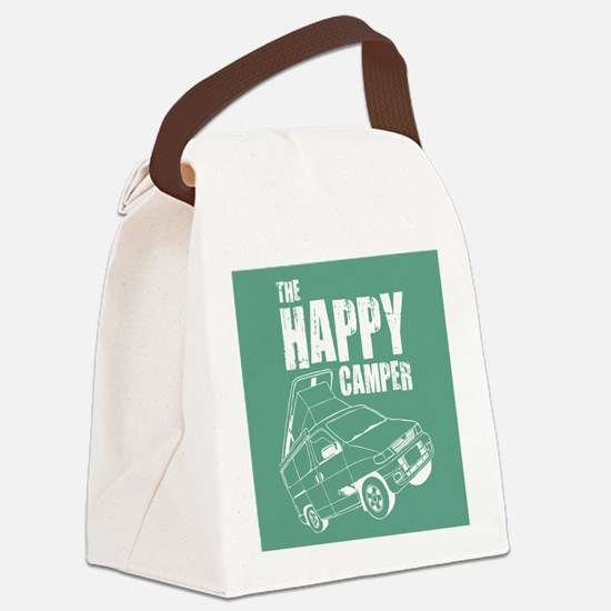 HAPPY CAMPER_10x10 Canvas Lunch Bag
