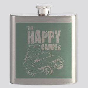HAPPY CAMPER_10x10 Flask