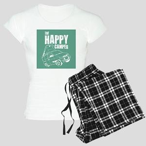 HAPPY CAMPER_10x10 Women's Light Pajamas