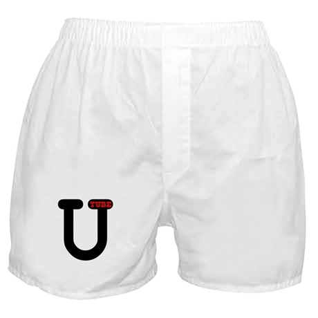 UTube Hot Red Style 3 Boxer Shorts