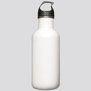 white happy camper Stainless Water Bottle 1.0L