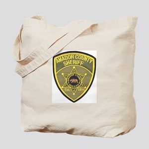 Amador County Sheriff Tote Bag