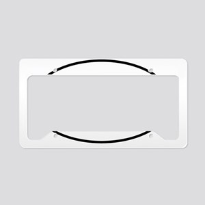 moo-oval License Plate Holder