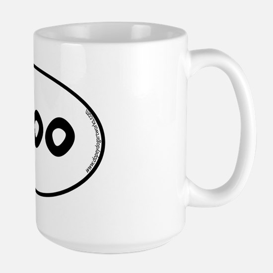 moo-oval Large Mug