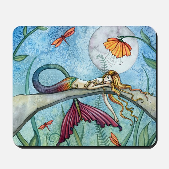 down by the pond cp Mousepad