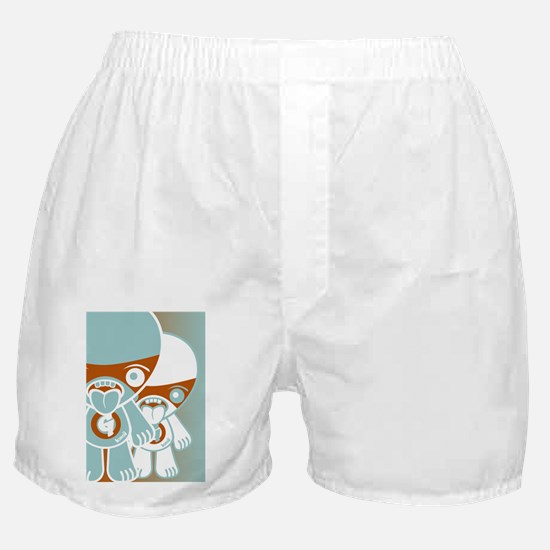 GreedyGreetCardStencilP Boxer Shorts