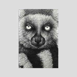 Ring-tailed Lemur (iphone case 2) Rectangle Magnet