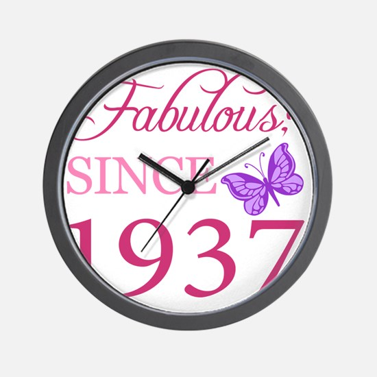 Butterfly1937 Wall Clock